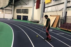Measuring distance at USM indoor facilities